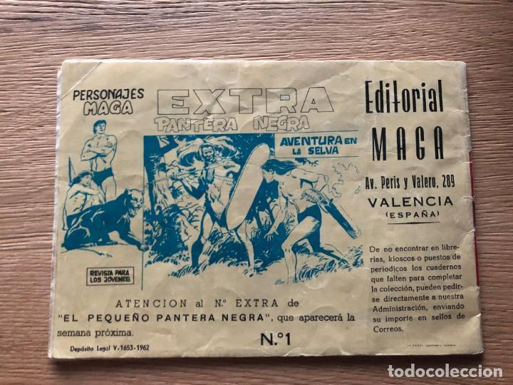 Tebeos: Nº 1 , EXTRA FLECHA ROJA, CONSPIRACIÓN INDIA, ED MAGA 1963 - Foto 2 - 141683186