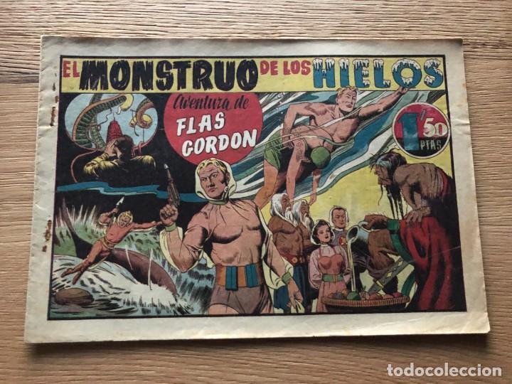 Nº 1 AVENTURA DE FLASH GORDON, EL MONSTRUO DE LOS HIELOS, ED HISPANO AMERICANA 1946 (Tebeos y Cómics - Números 1)