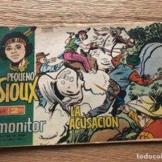 Tebeos: Nº 1 EL PEQUEÑO SIOUX, LA ACUSACIÓN, ED IBERO MUNDIAL 1965. Lote 141686462