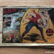 Tebeos: Nº 1 BALIK EL CRUEL, ED HISPANO AMERICANA 1943. Lote 141698450