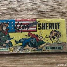 Tebeos: Nº 1 EL PEQUEÑO SHERIFF, EL CUERVO, ED HISPANO AMERICANA 1948. Lote 141699774