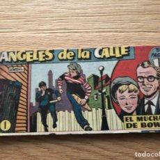 Tebeos: Nº 1 ÁNGELES DE LA CALLE, EL MUCHACHO BOWERY, ED HISPANO AMERICANA 1950. Lote 141700270