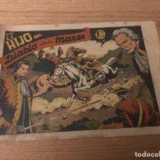 Tebeos: Nº 1 EL HIJO DEL DIABLO DE LOS MARES, ED TORAY 1949. Lote 141730986
