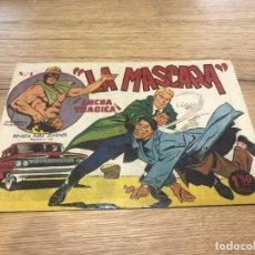 Tebeos: Nº 1 , JIM DALE, LA MÁSCARA, LUCHA TRÁGICA ED CREO 1961. Lote 141755458