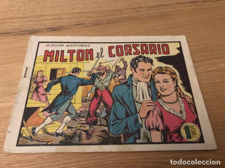 Nº 1, MILTON EL CORSARIO, ED VALENCIANA (Tebeos y Cómics - Números 1)