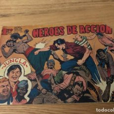Tebeos: Nº 1, JUNGLA, HÉROES DE ACCIÓN , ED MAGA 1958. Lote 141894970