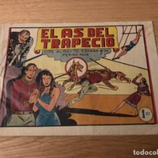 Tebeos: Nº 1, ALBERTO ESPAÑA Y SU PERRO NICK, EL AS DEL TRAPECIO, ED VALENCIANA 1944. Lote 141961234