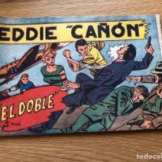 Tebeos: Nº 1, EDDIE CAÑON, EL DOBLE, ED ACRÓPOLIS 1963, CAJA/2. Lote 142061766