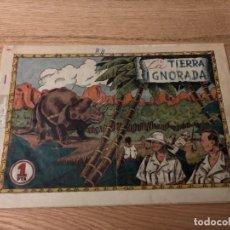 Tebeos: Nº 1, EXPEDICIÓN RAWSON, LA TIERRA IGNORADA, ED HISPANO AMERICANA 1945, CAJA/2. Lote 142094278