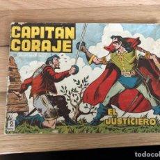 Tebeos: Nº 1 CAPITAN CORAJE, EL JUSTICIERO, ED TORAY 1958. Lote 142127890