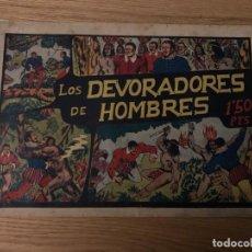 Tebeos: Nº 1, NIÑO GONZALO, LOS DEVORADORES DE HOMBRES, ED VALENCIANA 1943, CAJA/02. Lote 142186026