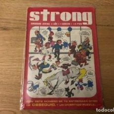 Tebeos: Nº 1, STRONG, SEMANARIO JUVENIL, ED ARGOS 1969, BUEN ESTADO!!, CAJA/02. Lote 142186874