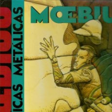 Tebeos: MOEBIUS. CRÓNICAS METÁLICAS. NORMA EDITORIAL. 1992.(RF.MA)B/42. Lote 142338706