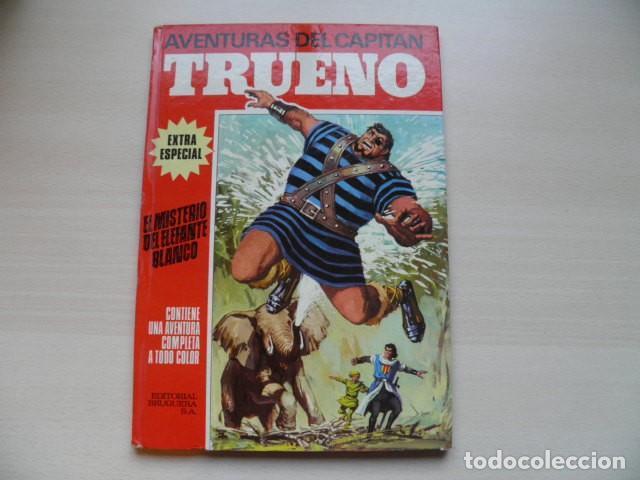 CAPITAL TRUENO EXTRA, ALBUM ROJO. (Tebeos y Cómics - Números 1)