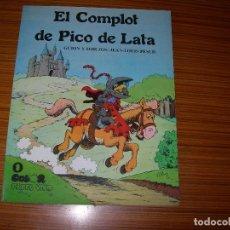 Tebeos: PAPEL VIVO EL COMPLOT DE PICO DE LATA Nº 1 EDITA DE LA TORRE . Lote 143379654