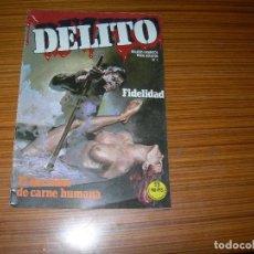 Tebeos: DELITO Nº 1 EDITA ZINCO . Lote 143383938
