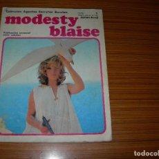 Tebeos: MODESTY BLAISE Nº 1 EDITA BURULAN . Lote 143414434