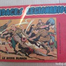 BDs: AUDACES LEGIONARIOS , LA NOVIA BLANCA , NUMERO 1 , EDITORIAL MAGA , . Lote 144496222