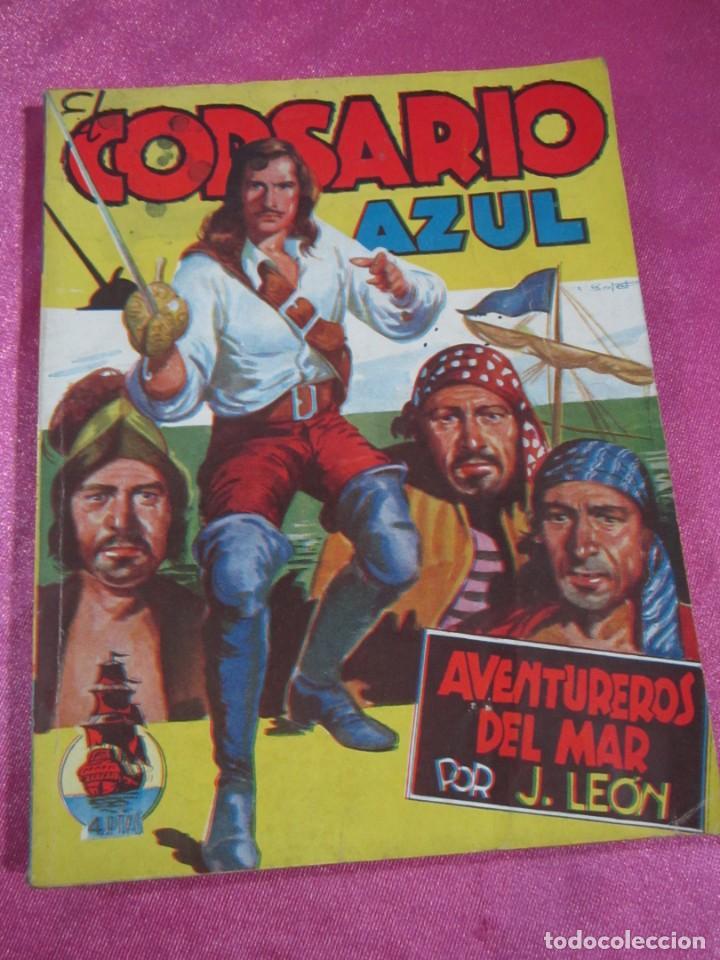 Tebeos: EL CORSARIO AZUL 1 CLIPER - Foto 2 - 144664282