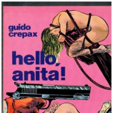 Livros de Banda Desenhada: COLECCIÓN FETICHE COLOR-1. GUIDO CREPAX. HELLO,ANITA! DISTRINOVEL,1982.. Lote 145916842