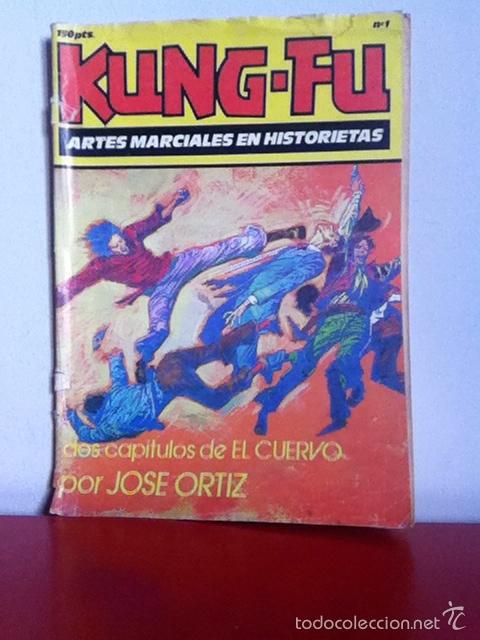 KUNG FU. N 1. ED. IRU. 1987 (Tebeos y Cómics - Números 1)