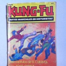Tebeos: KUNG FU. N 1. ED. IRU. 1987. Lote 145957761