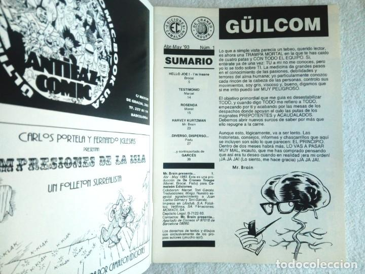 Tebeos: Nº 1 de MR BRAIN presenta.RUMBLE! Ed Camaleón 1993 - Foto 3 - 146070666
