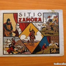 Tebeos: HEROICOS EPISODIOS DE LA HISTORIA DE ESPAÑA, Nº 1 SITIO DE ZAMORA- EDITORIAL MARCO 1943 - VER FOTOS. Lote 146136478