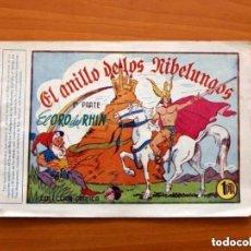 Tebeos: BRAVO ESPAÑOL, Nº 1 - EDITORIAL GRAFIDEA 1940 - TAMAÑO 15'5X22 EL ANILLO DE LOS NIBELUNGOS, 1ª PARTE. Lote 146214062