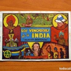 Tebeos: LOS VENGADORES DE LA INDIA, Nº 1 - EDITORIAL VALENCIANA 1941 - TAMAÑO 17X24. Lote 146226478