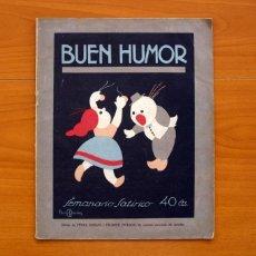 Tebeos: BUEN HUMOR Nº 1 - SEMANARIO SATÍRICO DE FECHA 4 DE DICIEMBRE DE 1921 - TAMAÑO 27X21'5. Lote 146256358