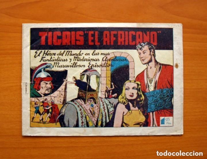TIGRIS EL AFRICANO, Nº 1 - EDITORIAL EDETA 1949 - TAMAÑO 17X24'5 (Tebeos y Cómics - Números 1)
