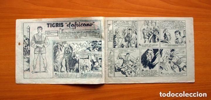 Tebeos: Tigris el Africano, nº 1 - Editorial Edeta 1949 - Tamaño 17x245 - Foto 2 - 146256898
