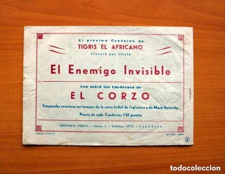 Tebeos: Tigris el Africano, nº 1 - Editorial Edeta 1949 - Tamaño 17x245 - Foto 7 - 146256898