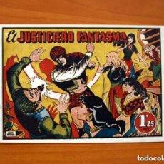 Tebeos: EL JUSTICIERO FANTASMA, Nº 1 - EDITORIAL BRUGUERA 1948 - TAMAÑO 16'5X24. Lote 146262542
