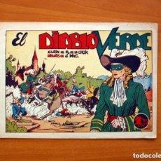 Tebeos: EL DIABLO VERDE, Nº 1 - PUBLICACIONES IBERO AMERICANAS 1948 - TAMAÑO 17X24. Lote 146263366