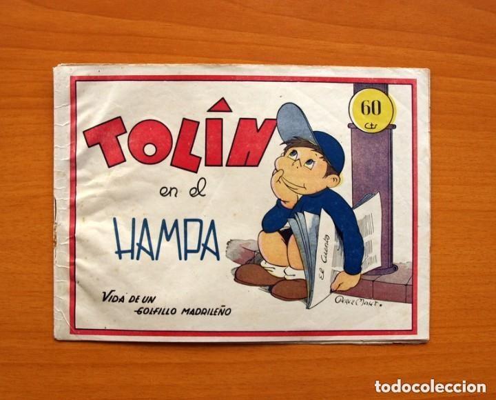 TOLIN - Nº 1, TOLIN EN EL HAMPA - EDITORIAL GUERRI 1948 - TAMAÑO 15'5X21 (Tebeos y Cómics - Números 1)