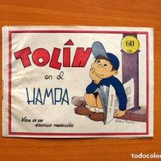 Tebeos: TOLIN - Nº 1, TOLIN EN EL HAMPA - EDITORIAL GUERRI 1948 - TAMAÑO 15'5X21. Lote 146263918