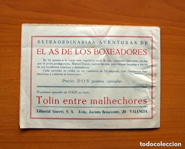 Tebeos: Tolin - nº 1, Tolin en el hampa - Editorial Guerri 1948 - Tamaño 155x21 - Foto 7 - 146263918