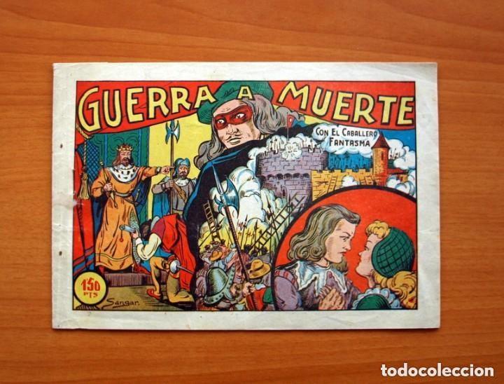 EL CABALLERO FANTASMA - Nº 1, GUERRA A MUERTE - EDITORIAL SATURNO 1947 - TAMAÑO 17X25 (Tebeos y Cómics - Números 1)