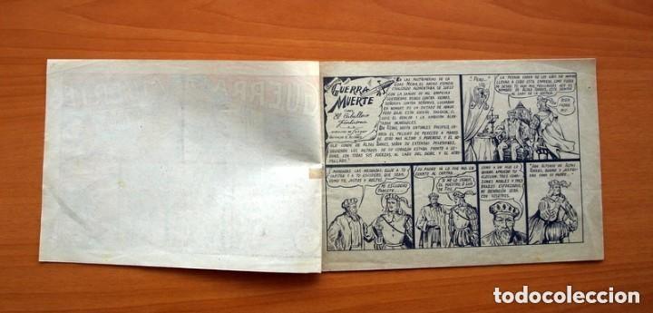 Tebeos: El caballero fantasma - nº 1, Guerra a muerte - Editorial Saturno 1947 - Tamaño 17x25 - Foto 2 - 146264442