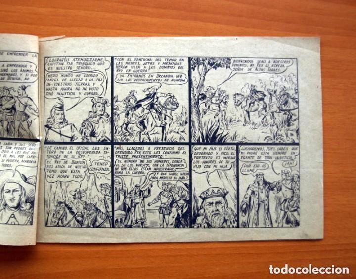 Tebeos: El caballero fantasma - nº 1, Guerra a muerte - Editorial Saturno 1947 - Tamaño 17x25 - Foto 3 - 146264442