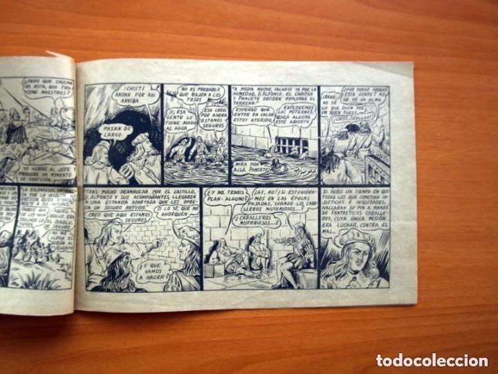 Tebeos: El caballero fantasma - nº 1, Guerra a muerte - Editorial Saturno 1947 - Tamaño 17x25 - Foto 4 - 146264442