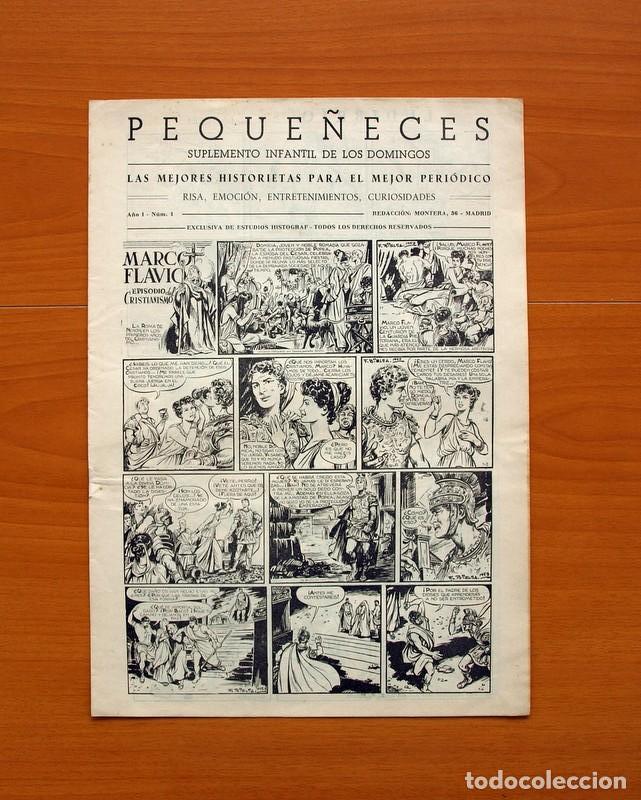 PEQUEÑECES, Nº 1 - EDITORIAL ESTUDIOS HISTOGRAF 1953 - TAMAÑO 34X24 (Tebeos y Cómics - Números 1)