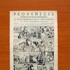 Tebeos: PEQUEÑECES, Nº 1 - EDITORIAL ESTUDIOS HISTOGRAF 1953 - TAMAÑO 34X24. Lote 98846927