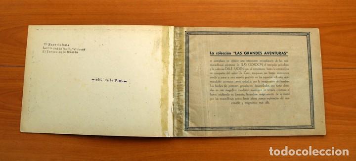 Tebeos: Flas Gordon álbum rojo nº 1 - Editorial Hispano americana 1944 - Tamaño 35x24 cm. - Foto 3 - 146493254