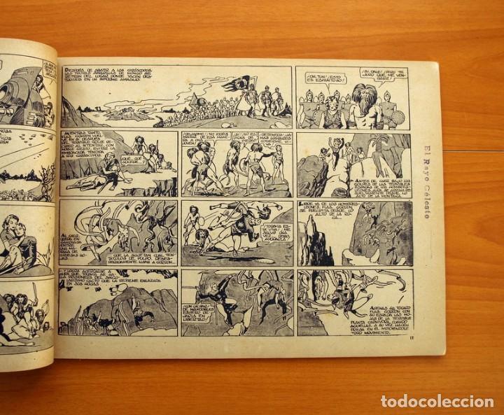 Tebeos: Flas Gordon álbum rojo nº 1 - Editorial Hispano americana 1944 - Tamaño 35x24 cm. - Foto 6 - 146493254