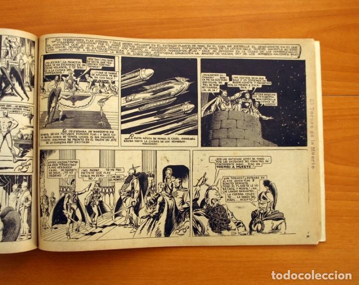 Tebeos: Flas Gordon álbum rojo nº 1 - Editorial Hispano americana 1944 - Tamaño 35x24 cm. - Foto 8 - 146493254