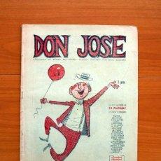 Tebeos: DON JOSÉ Nº 1 - PUBLICADO POR EL DIARIO ESPAÑA DE TÁNGER EN 1955 - TAMAÑO 33X24 CM.. Lote 146496970