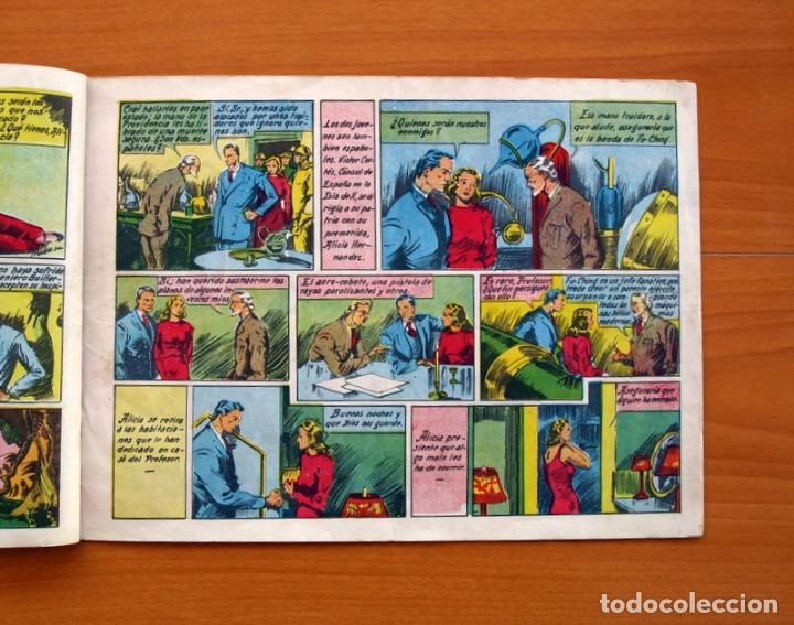 Tebeos: Víctor Alicia y el Profesor Guillermo de Alava-Nº 1 La Ciudad Submarina-Editorial J. L. Aguilar 1943 - Foto 3 - 146509566